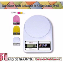 Mini Balança Digital De Precisão 1g A 10kg Cozinha Sf-400
