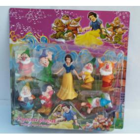 Kit 8 Bonecos Branca De Neve E Os Sete Anões Miniaturas