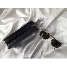 Raro Óculos Ray Ban De Sol Vintage Usa Unissex Banho 18k/b&l