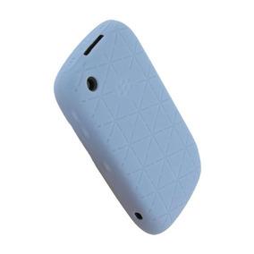 Funda Silicon Blackberry Azul Cielo 8520 8530