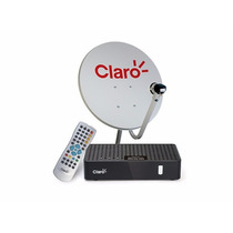 Kit Claro Tv Pre Pago (1 Antena+3 Receptores) Livre 2 Anos