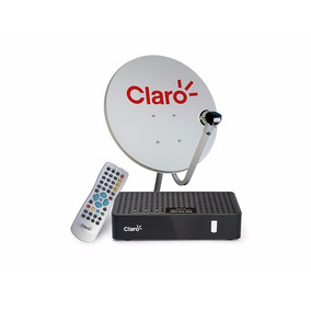 Kit Claro Tv Pre Pago (1 Antena+2 Receptores) Livre 2 Anos
