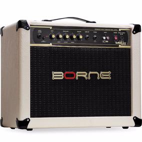 Amplificador Cubo Para Guitarra Borne Vorax 1050 - Creme