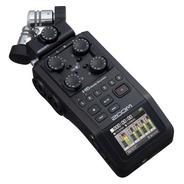 Gravador Digital Zoom H6 Black Finish 6-track Portátil