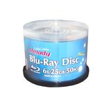 Torta 50 Unidades Bluray Melody Imprimibles 6x 25gb