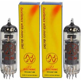 Válvulas Jj Electronic El-84 El84 6bq5 Potencia Power Nuevas