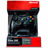 Joystick Xbox 360 Original Microsoft Inalámbrico Pc Xbox