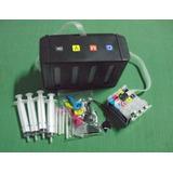 Sistema Continuo Antiderrame Hp Canon Caja Negra Modelo