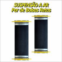 Par De Bolsa De Ar Reta 8mm E 10mm - Fiat Uno Antigo 2006