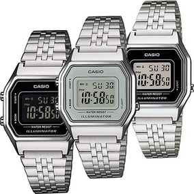 e3f15cbc851c Reloj Casio Original Dama Plata - Reloj de Pulsera en Mercado Libre ...