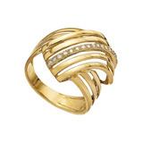 Anel Ouro 18k(750) Pedra Natural Diamante