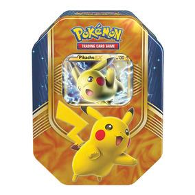 Pokemon Lata Sol E Lua 1 Batalha De Coracao - Pikachu Ex Cop