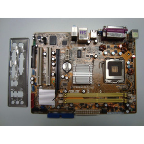 Mother 775 Asus P5gc-mx/1333 Ddr2 Chapita P/dual Core2 Envio