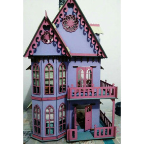 Casinha De Boneca Barbie Polly Pocket