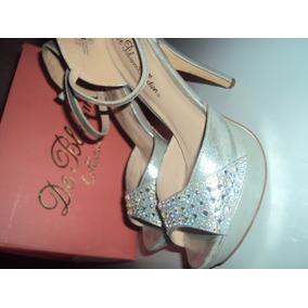 00b168fc Zapatos Baratos Plateados Tacones Escarchados En Mujer Otros Cqztgwt