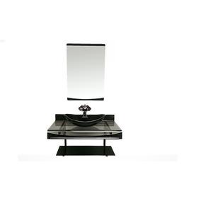 Gabinete Para Banheiro De Vidro Alasca 60 Cm Diversas Cores!