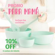 Bowls Plástico Pastel Chico, Mediano, Grande  Y Cucharas