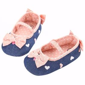 Sapato Bebê Sapatilha Menina Linda
