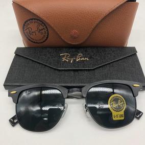 Oculos Masculino Ray Ban - Óculos De Sol Ray-Ban Clubmaster no ... 69c6a710d9