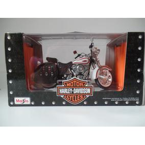 Moto Harley Davidson 1:10 Maisto - Flsts Heritage Springer