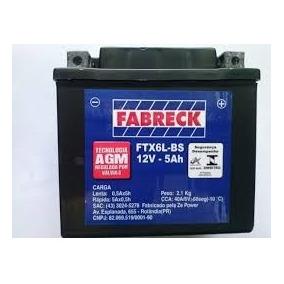 Bateria 5ap Fabreck Tit150 09, Fan02-09