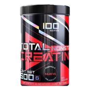 Total Nonstop Creatina Monohidratada 500 Gramos (100 Servs)