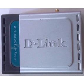 Roteador Adsl Wireless Wifi Dsl-2640t D-link