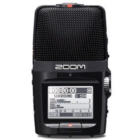 Gravador Digital Zoom H2n Handy Recorder Mem 2gb - H2
