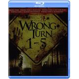 Camino Hacia El Terror Wrong Turn 1 - 5 Peliculas En Blu-ray