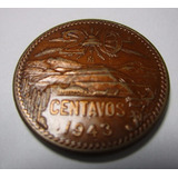 Moneda Antigua Mexico 20 Centavos 1943