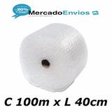 Plástico Bolha 100m X 40cm Embalagens E-commerce Ideal Loja
