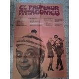 Luis Sandrini Afiche El Profesor Patagonico (1970)