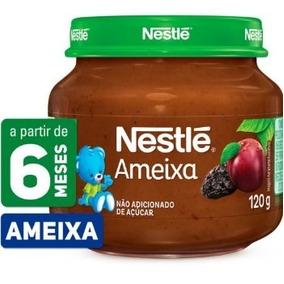 Kit 16 Papinhas Nestlé Frutas Naturais 120g - Salgadas 115g