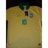 Franela Neimar #10 Football Brasil