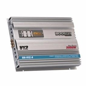 Módulo Amplificador Booster Ba-v12 4ch Stereo Mono 500rms