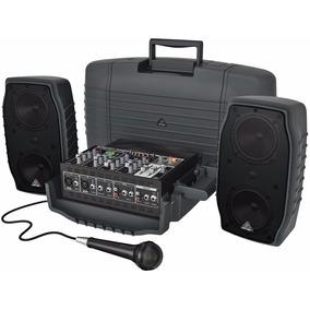 Caixa Acústica Ativa Behringer Ppa200 200w - Loja Oficial