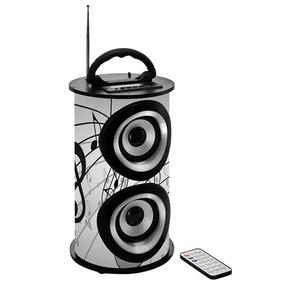 Caixa De Som Bluetooth 25w Trc Portátil - Trc 218b