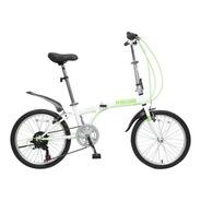 Bicicleta Plegable R 20 Folding Urbana 6 Cambios Shimano Pro