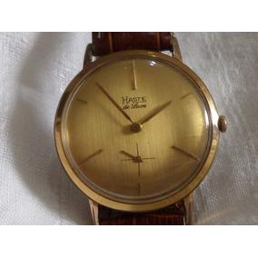 Reloj Haste Buren De Luxe Vintage Slim Cuerda