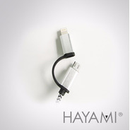 Cable iPhone Y Android - Lightning Y Microusb