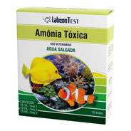 Alcon Labcon Teste Amônia Nh3 - Água Salgada / Marinho