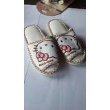Pantuflas Cholas Dama Hello Kitty