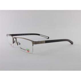Armação Para Oculos De Grau Tag Heuer Grafite
