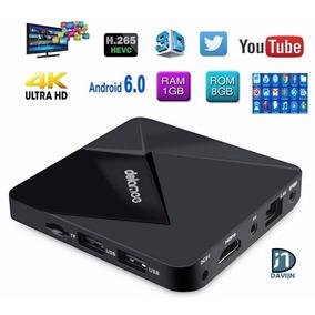 Tv Box Android 5.1 Smart 4k Super Hd 1gb De Ram 8gb De Rom