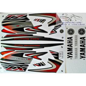 Kit Jogo Faixa Adesivo Yamaha Xtz 125 2005 Preta