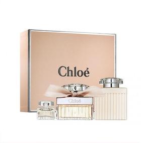 Kit Perfume Chloé Edp Parfum 75ml + Creme 100ml + Spray 5ml