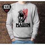 Buzo Liso Marilyn Manson - Mm1