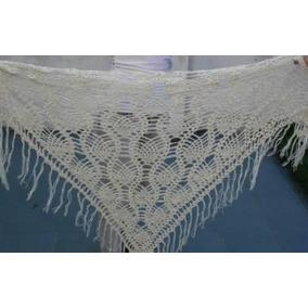 Chal Chalina Tejido Al Crochet Hilo Verano Promo Hot Sale