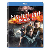 Resident Evil Infierno Pelicula Blu-ray