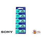 Cartela Com 10 Baterias Sony 337 Sr416sw 1.55v - 10 Unidades